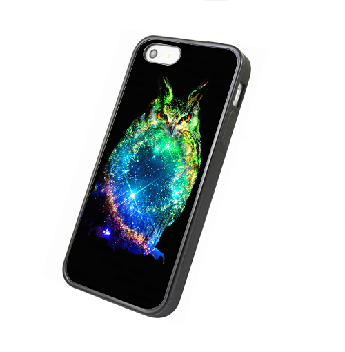 nebula galaxy owl - iphone 4 4s case iphone 5 5s 5c case iphone 6 6 plus case ipod touch 4 ipod touch 5 case