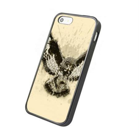vintage owl - iphone 4 4s case iphone 5 5s 5c case iphone 6 6 plus case ipod touch 4 ipod touch 5 case